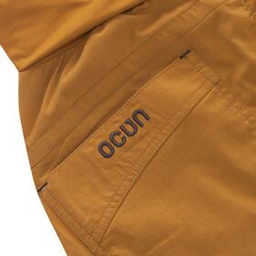 Ocun Noya Shortsit Naiset, brown/yellow